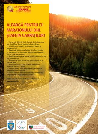 Maratonul DHL Stafeta Carpatilor: Doua drumuri inchise