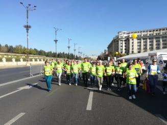 Maratonul International Bucuresti: Zeci de mii de oameni din peste 70 de tari alearga in weekend