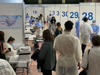 Maratonul Vaccinarii: 18.000 de persoane au fost vaccinate la Sala Palatului si Biblioteca Nationala pana duminica la ora 20.00 UPDATE