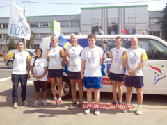Maratonul pacii prin Barlad n-a impresionat autoritatile locale (foto)