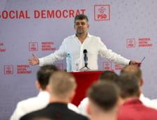 """Marcel Ciolacu: """"Sa investim pe o perioada limitata un guvern de specialisti, ca dupa ce trece acest val patru, sa organizam alegeri anticipate"""""""