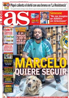 Marcelo a dat un raspuns in ce priveste ramanerea sa la Real Madrid - presa