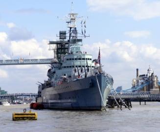 "Marea Britanie ar urma sa trimita nave de razboi in Marea Neagra, ""in semn de solidaritate cu Ucraina si NATO"""