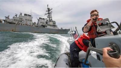 Marea Neagră, un lac rusesc? Filmul intimidării unui distrugător american de către armata rusă VIDEO