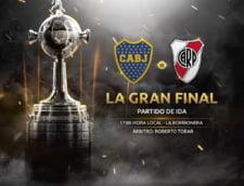 Marele derbi dintre Boca Juniors si River Plate, din finala Copa Libertadores, amanat din cauza ploii