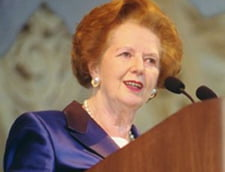 Margaret Thatcher, in audienta privata la Papa