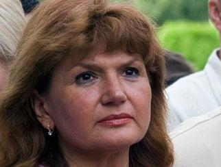 Maria Basescu a plans, la slujba de la Manastirea Prislop