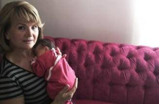 Maria Basescu isi serbeaza onomastica alaturi de nepotica