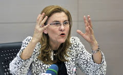 Maria Grapini, criticata in comisia speciala pentru Rosia Montana (Video)