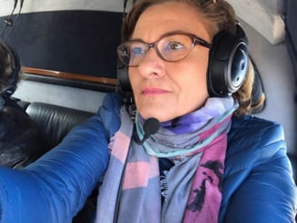 "Maria Grapini sustine ca, dupa ce a vizitat ""Tela Viv"" a trecut ""pe la toate granitele"" Israelului"
