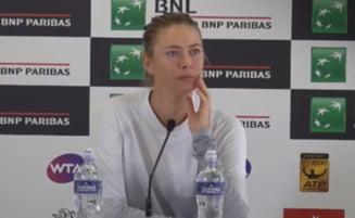 Maria Sharapova, despre meciul cu Simona Halep de la Roma: Rusoaica spune ca are un mare dezavantaj