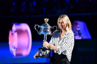 Maria Sharapova, despre posibilitatea de a o intrece pe Simona Halep in clasamentul WTA