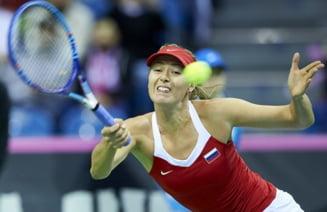 Maria Sharapova, eliminata de la Stuttgart dupa un meci incredibil
