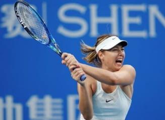 Maria Sharapova, eliminata in semifinale la Shenzhen: Simona Halep va juca finala cu Katerina Siniakova
