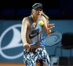Maria Sharapova, victorie convingatoare dupa suspendarea pentru dopaj