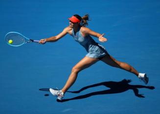 Maria Sharapova a facut o demonstratie de forta in primul tur la Australian Open 2019