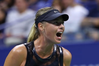 Maria Sharapova a facut scandal in timpul meciului cu Sorana Cirstea de la US Open