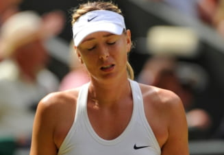 Maria Sharapova a revenit pe terenul de tenis