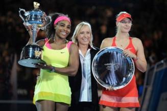 Maria Sharapova e transanta: N-am sa fiu niciodata prietena cu Serena Williams