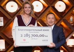 Maria Sharapova face un gest superb - cati bani a donat rusoaica
