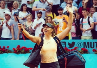 Maria Sharapova se califica in optimi la Roma dupa un meci maraton