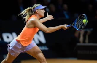 Maria Sharapova se califica in sferturi la Stuttgart
