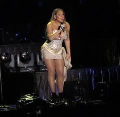 Mariah Carey continua seria aparitiilor bizare. Crapa totul pe ea (Foto)