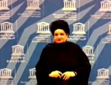 Mariana Nicolesco, medaliata de UNESCO, la Paris, pentru merite deosebite