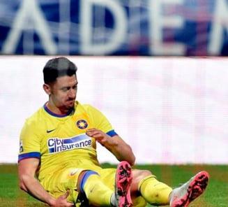 Marica, ironizat de galeria lui Dinamo: Ce s-a scandat dupa accidentarea atacantului Stelei
