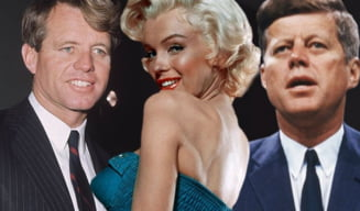Marilyn Monroe s-a filmat cand a facut sex cu fratii Kennedy - casetele, la licitatie?