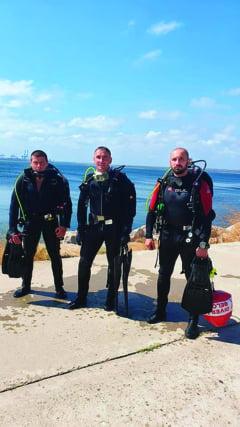 Marinar salvat de la inec de scafandrii nemteni