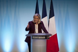 Marine Le Pen candideaza pentru a treia oara consecutiv la presedintia Frantei