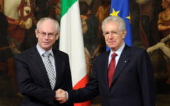 Mario Monti si Herman Van Rompuy vor un summit extraordinar - vezi pentru ce