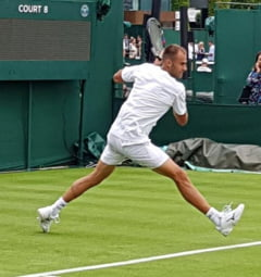 Marius Copil pierde surprinzator in primul tur la Wimbledon