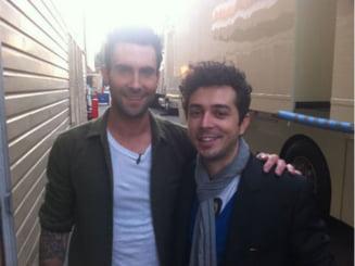 Marius Moga a compus o piesa pentru Maroon 5