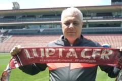 "Marius Sumudica, discurs razboinic la prezentarea oficiala la CFR Cluj: ""Sa se teama de mine, merg pana in panzele albe"""