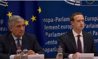 Mark Zuckerberg a fost audiat in Parlamentul European. Ce a promis si cat a convins? (Video)