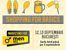 Marketing for Men - singura conferinta dedicata intelegerii consumatorului masculin din Romania