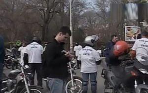 Mars al motociclistilor, in Capitala