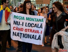 Mars impotriva proiectului Rosia Montana: protestatarii, asteptati la metrou Titan