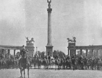 Mars in Capitala la 100 de ani de la intrarea Armatei Romane in Budapesta si eliberarea Ungariei de regimul bolsevic