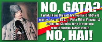 Mars memorial Avram Iancu la Cluj: S-a cerut demisia lui Ciolos