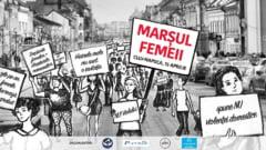 Marsul Femeii, la Cluj: Stop violentei in familie! Vrem educatie sexuala in scoli!