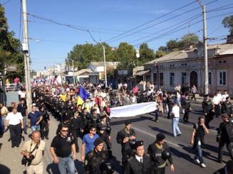 Marsul Unirii la Chisinau: 10.000 de oameni asteptati sa ceara unirea cu Romania
