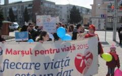 Marsul pentru viata si familie. Miting impotriva avortului organizat sambata in Craiova