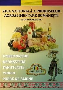 Marti, 10 octombrie : Ziua Nationala a Produselor Agroalimentare Romanesti