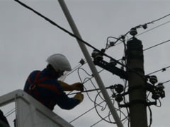 Marti, 7 octombrie, patru localitati giurgiuvene nu vor avea energie electrica