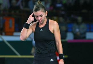 "Martina Navratilova prezinta ""greseala fatala"" comisa de Simona Halep in meciul cu Caroline Wozniacki"