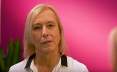 Martina Navratilova si-a ales favorita in finala dintre Simona Halep si Serena Williams