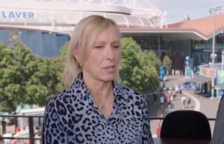 Martina Navratilova si-a ales favorita la Australian Open: E fantastica, joaca fenomenal